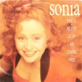 Sonia ‎– You'll Never Stop Me Loving You (SP)