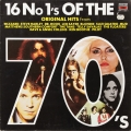 Various ‎– 16 No 1's Of The 70's (LP)