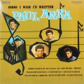 Paul Anka ‎– Songs I Wish I'd Written (LP)