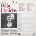 Billie Holiday ‎– The Young (30's) (LP).
