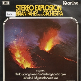 Brian Fahey – Stereo Explosion (LP)