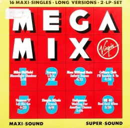 MegaMix 16 Maxi Singles Long Versions (2LP)