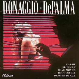 Donaggio ‎– DePalma - Love And Menace (CD)