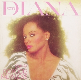 Diana Ross ‎– Why Do Fools Fall In Love (LP)