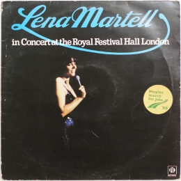 Lena Martell ‎– in Concert at the... (LP)