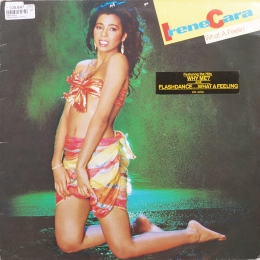 Irene Cara ‎– What A Feelin' (LP)