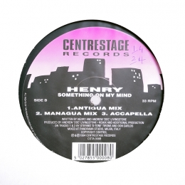 Henry ‎– Something On My Mind (EP)