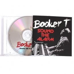 Booker T ‎– Sound The Alarm (CD)