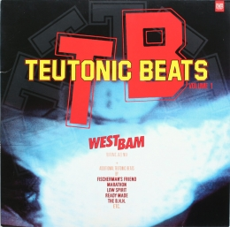Various ‎– Teutonic Beats Volume 1 (2LP)