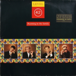 Level 42 ‎– Running In The Family (LP)