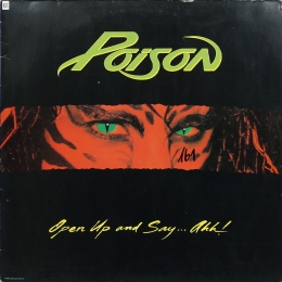 Poison ‎– Open Up And Say ...Ahh! (LP)