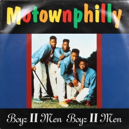 Boyz II Men ‎– Motownphilly (EP)