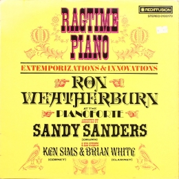 Ron Weatherburn ‎– Ragtime Piano (LP)
