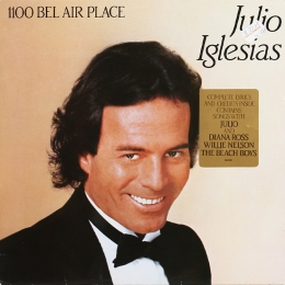 Julio Iglesias ‎– 1100 Bel Air Place (LP)