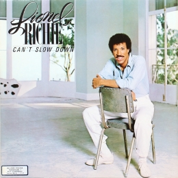 Lionel Richie ‎– Can't Slow Down (LP)