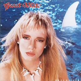 Great White ‎– Once Bitten (LP)