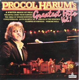 Procol Harum ‎– Greatest Hits Vol. 1 (LP)