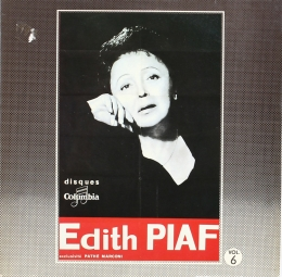 Edith Piaf ‎– Edith Piaf Vol. 6 (LP)