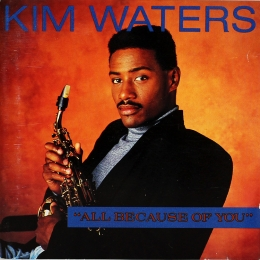 Kim Waters ‎– All Because Of You (CD)