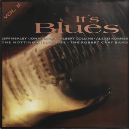 Various ‎– It's Blues Vol.II (LP)
