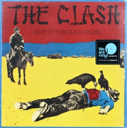 The Clash ‎– Give 'Em Enough Rope (LP)н