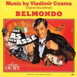 Vladimir Cosma ‎– Das As Der Asse (LP)
