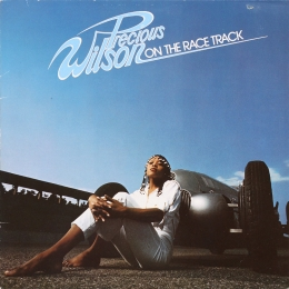 Precious Wilson ‎– On The Race Track (LP)