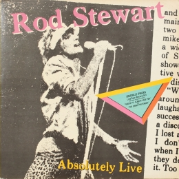 Rod Stewart ‎– Absolutely Live (2LP)