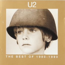 U2 ‎– The Best Of 1980-1990 (CD)