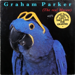 Graham Parker ‎– The Real Macaw (LP)