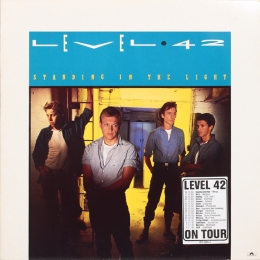 Level 42 ‎– Standing In The Light (LP)