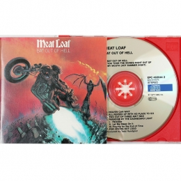 Meat Loaf ‎– Bat Out Of Hell (CD)