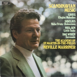 Neville Marriner ‎– Scandinavian Music (LP)
