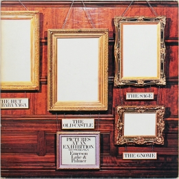 Emerson, Lake & Palmer ‎– Pictures At... (LP)