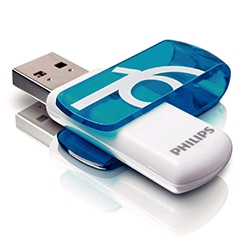 USB 2.0 Flash Drive Philips Vivid 16 GB