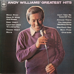 Andy Williams ‎– Andy Williams' Greatest Hits