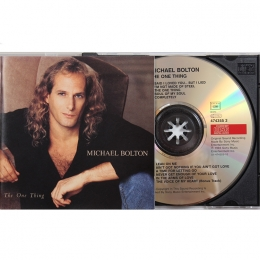 Michael Bolton ‎– The One Thing (CD)