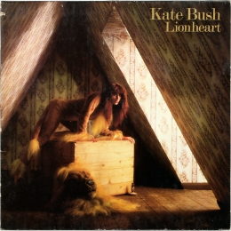Kate Bush ‎– Lionheart (LP).