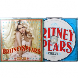 Britney Spears ‎– Circus (CD)