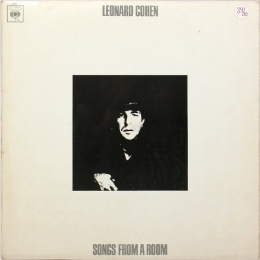 Leonard Cohen ‎– Songs From A Room (LP).
