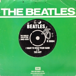 The Beatles ‎– I Want To Hold Your Hand (SP)