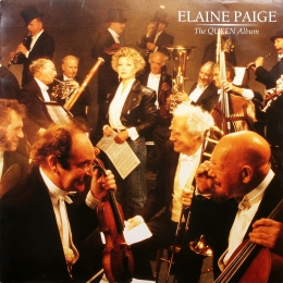 Elaine Paige - The Queen Album (LP).