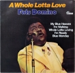 Fats Domino ‎– A Whole Lotta Love (LP)