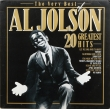 The Very Best Of Al Jolson 20 Greatest Hits