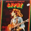 Bob Marley And The Wailers ‎– Live! (LP)